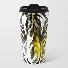 Yellow Tiger Travel Mug