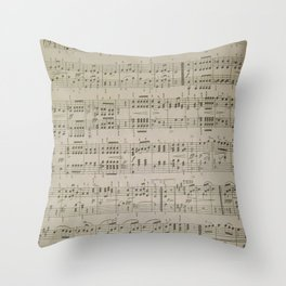 Menuetto Throw Pillow