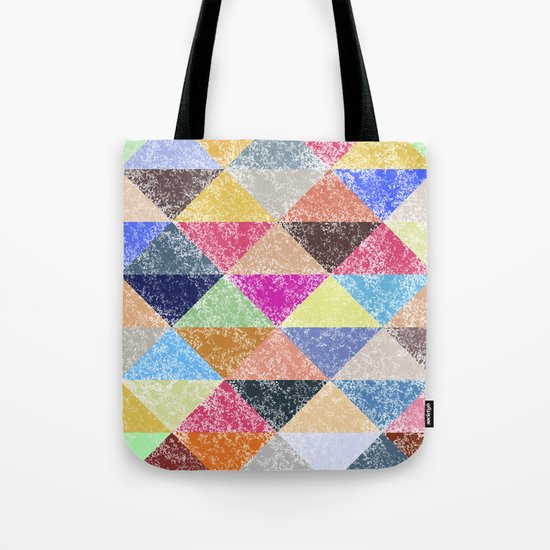 Color texture, Geometric background #2 Tote Bag