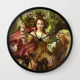 Jamie of the Jungle Wall Clock