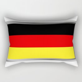 Germany flag Rectangular Pillow