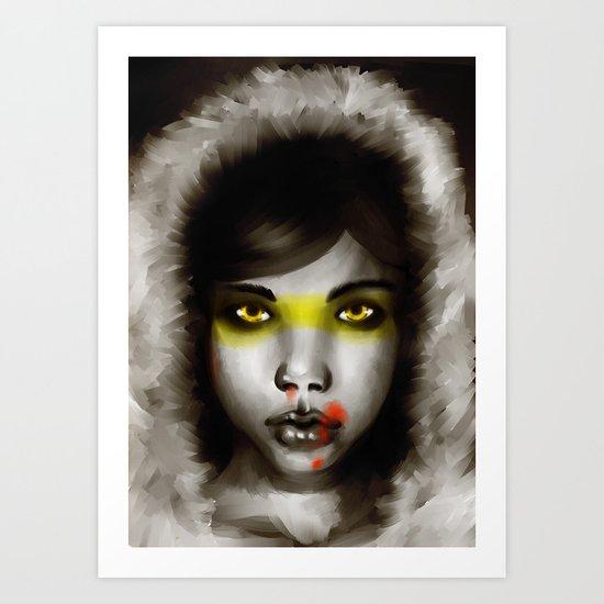 Hunter Hunted Art Print