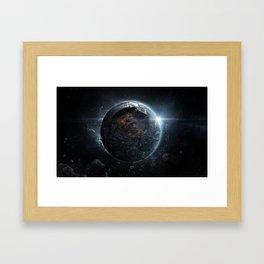 Cataclysmic Framed Art Print