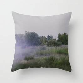 we move lightly Throw Pillow