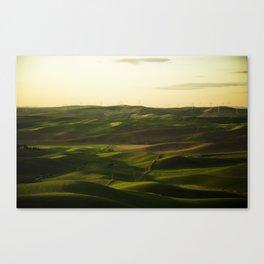 Palouse Vibes Canvas Print