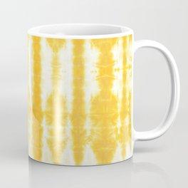 Yellow Tiki Shibori Coffee Mug