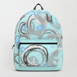 White Bubble 01 Backpack