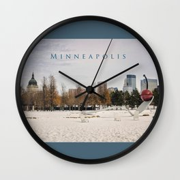 Minneapolis Wall Clock
