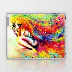 SHE IS RAINBOW Laptop & iPad Skin
