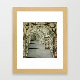 Museum of Curiosities Framed Art Print
