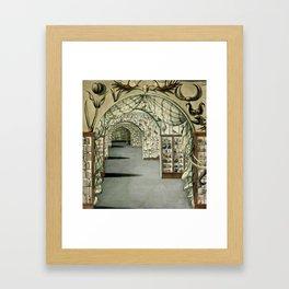 Museum of Curiosities Framed Art Print