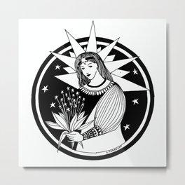 "Inktober, Day 8 ""Star"" #inktober #inktober2018 Metal Print"