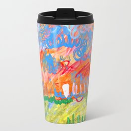Sunset Landscape Travel Mug