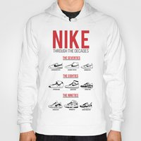 nike Hoodies featuring Nike Through the Decades  by halmills