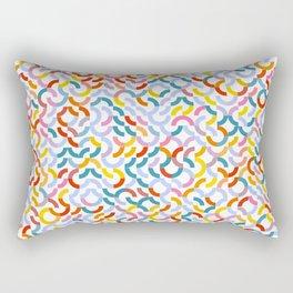 Rotated Arcs 01, Seed 5/44 Rectangular Pillow