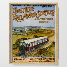 ancienne Coast Line Rail Motor Services Serving Tray