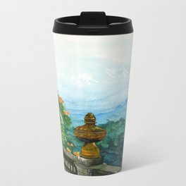 The View from La Cieba Grafica Metal Travel Mug