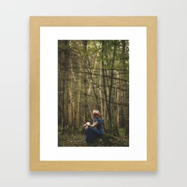 Deep in Forest Framed Art Print