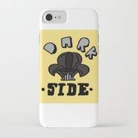 dark side iPhone & iPod Cases featuring dark side by benjamin chaubard