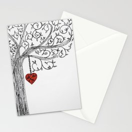 Love yourself first Stationery Cards