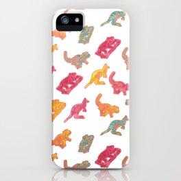 Beautiful Australian native Animals iPhone Case