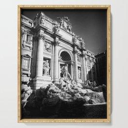 Fontana Di Trevi - Rome II Serving Tray