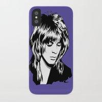 randy c iPhone & iPod Cases featuring Randy Rhoads by Laura Meg