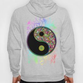 Yin Yang Bamboo Psychedelic Hoody