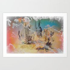 The Oz, By Sherri Of Palm Springs Art Print