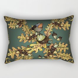History of the autumn forest_2 Rectangular Pillow