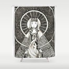 Hestia Shower Curtain