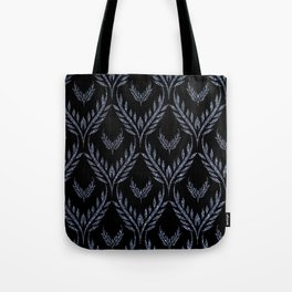 Petal Wings-Grayblue&Black Tote Bag