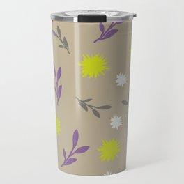 Floral pastel Travel Mug