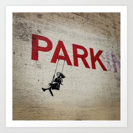 Parking Space Art Print