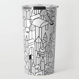 Little Escher's Building Blocks Travel Mug