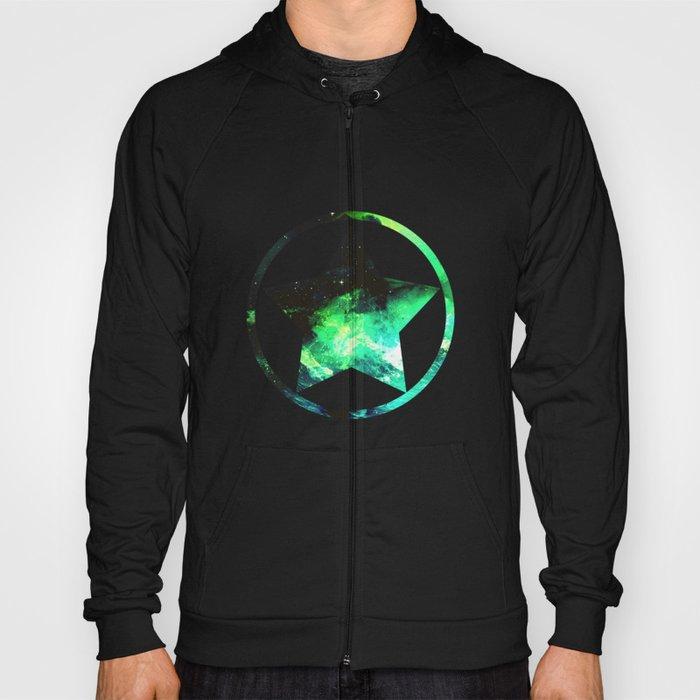 Green Nebula Hoody