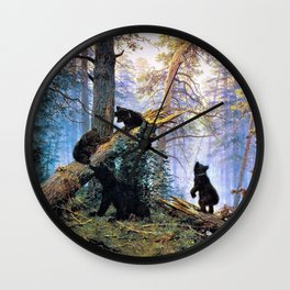 Morning in a Pine Forest - Digital Remastered EditionDigital Remastered Edition Wall Clock