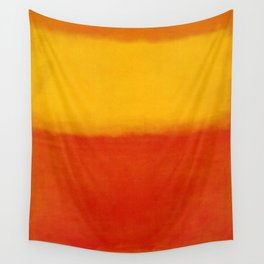 1956 Orange and Yellow by Mark Rothko HD Wall Tapestry