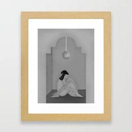 In Hidding Framed Art Print