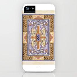 Cross-Carpet Page iPhone Case