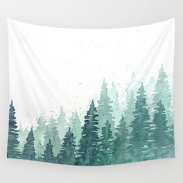 Evergreens Wall Tapestry
