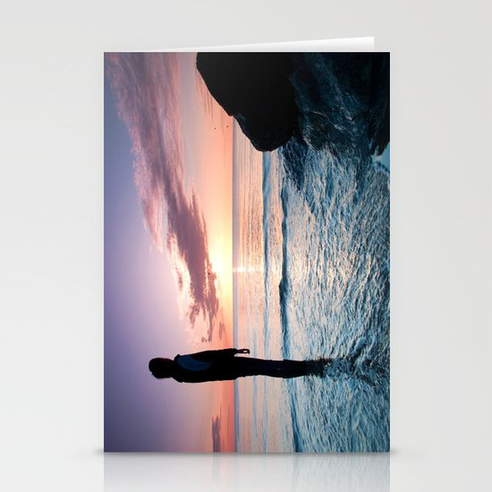 Tomorrow is a new day Stationery Cards