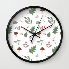 Forest - Pattern Wall Clock