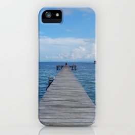 Indonesia blue  iPhone Case