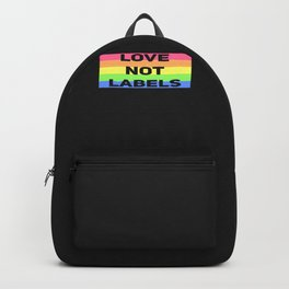 Love Not Labels Backpack