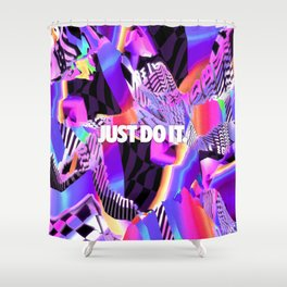 Just Do It 2 Shower Curtain