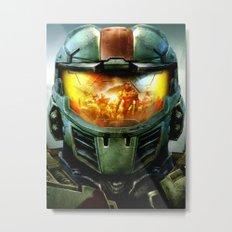 Halo Metal Print