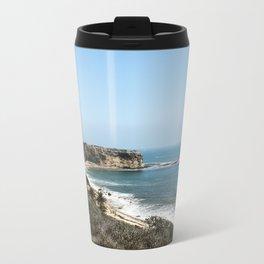 Beach Cliff Metal Travel Mug