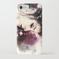 geisha iPhone & iPod Cases featuring Geisha by Vincent Vernacatola