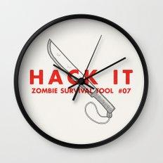Hack it - Zombie Survival Tools Wall Clock